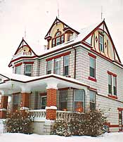 221 Melsted Place Bed and Breakfast - Mountain, North Dakota...The perfect B&B getaway for groups or couples on honeymoons or celebrating that special anniversary